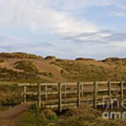 Cornish Seascape Holywell Bay Poster