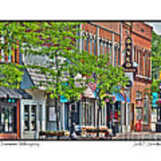 Downtown Willoughby Poster