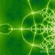 Green Fractal Poster