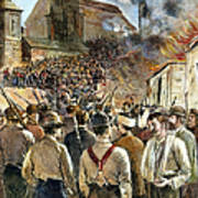 Homestead Strike, 1892 Poster by Granger