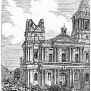 Manila: Earthquake, 1863 Poster