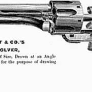 Revolver, 19th Century Poster