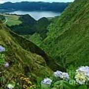 Sete Cidades - Azores Poster