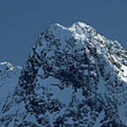 Tatra Mountains Winter Scenery Poster