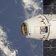 The Spacex Dragon Commercial Cargo Poster
