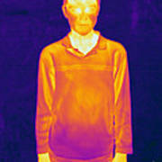 Thermogram Of A Boy Poster