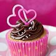 Valentine Cupcake Poster