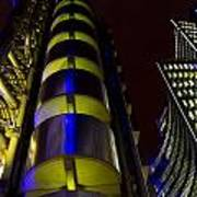 Lloyd's Building London  Poster