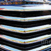 48 Chevy Convertible Grill Poster