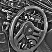 48 Chevy Convertible Interior Poster