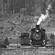 482 In Silverton - Bw Poster
