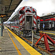 4th And King St. Caltrains Station - San Francisco Poster