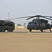 A Uh-60 Black Hawk Helicopter Poster