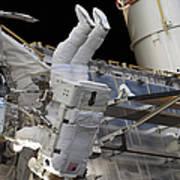 Astronaut Participates Poster