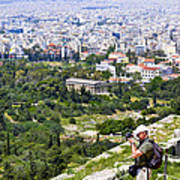 Athens Greece Poster