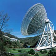 Effelsberg Radio Telescope Poster