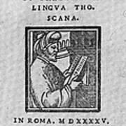 Euclid, Ancient Greek Mathematician Poster