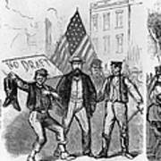 New York: Draft Riots, 1863 Poster