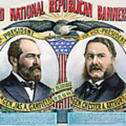 Presidential Campaign, 1880 Poster