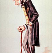 Richard Owen, English Paleontologist Poster by Science Source