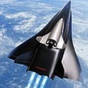 Saenger Horus Spaceplane, Artwork Poster