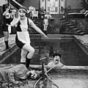 Silent Still: Bathers Poster
