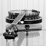 5-string On Glass Poster