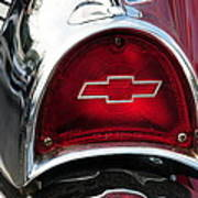 57 Chevy Tail Light Poster