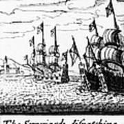 Spanish Armada, 1588 Poster