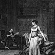 Cleopatra Vii (69-30 B.c.) Poster