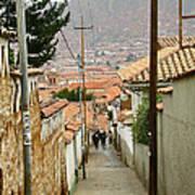 Cusco Peru Street Scenes Poster