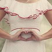 Heart Poster by Joana Kruse