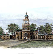 Philadelphia State House Poster