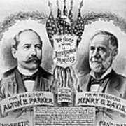 Presidential Campaign, 1904 Poster