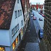Rothenburg Medieval Old Town  Poster