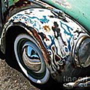 61 Volkswagon Bug Poster