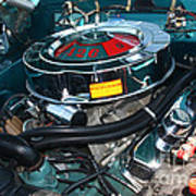 65 Plymouth Satellite Engine-8482 Poster