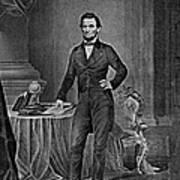 Abraham Lincoln, 16th American President Poster by Photo Researchers
