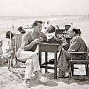 Film Still: Beach Poster