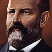 James A. Garfield (1831-1881) Poster