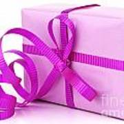 Pink Gift Poster by Blink Images