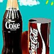 70's Coke Poster