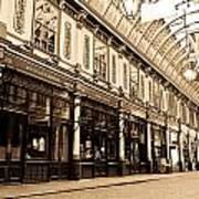 Leadenhall Market London Poster