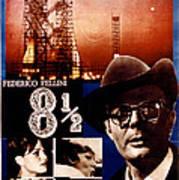 8 12, Marcello Mastroianni, 1963 Poster by Everett