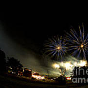 Fireworks Poster by Angel  Tarantella