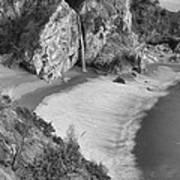 Mcway Falls - Big Sur Poster by Stephen  Vecchiotti