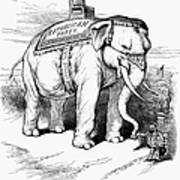 Presidential Campaign, 1884 Poster