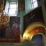 Inside The Old Russian Orthodox Church Poster