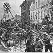 Johnstown Flood, 1889 Poster