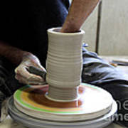 Pottery Wheel, Sequence Poster